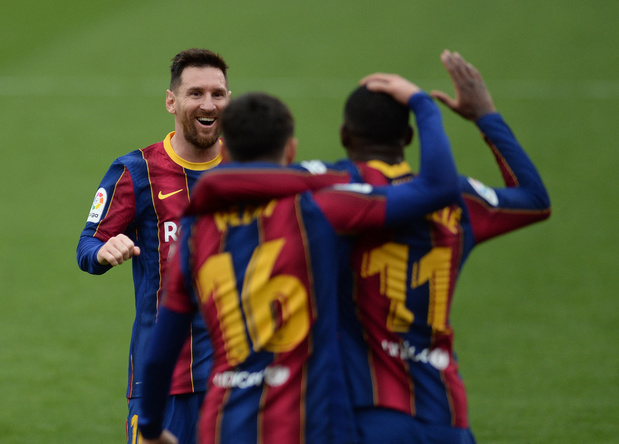 Barcelone s'impose à Séville, 15e match sans défaite en Liga
