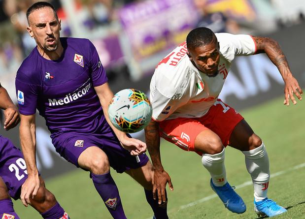 """Ribéry et son """"coup de foudre"""" pour la Fiorentina"""