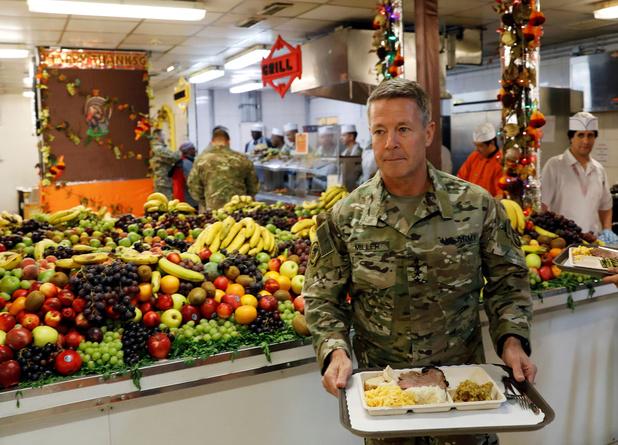 VS-generaal: 'Missie in Afghanistan niet meteen in gevaar door troepenvermindering'