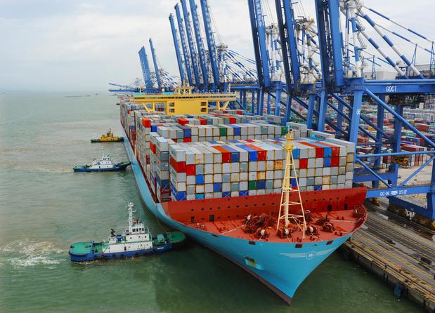 Transport maritime: Maersk se sépare de 2.000 employés