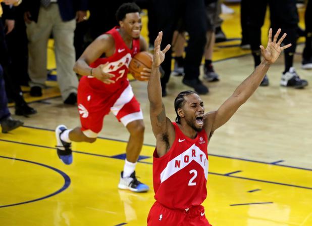 NBA: Toronto détrône Golden State et remporte son premier titre