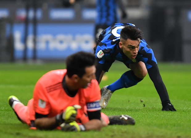 Les Belges à l'étranger: L'Inter battu par la Juventus en demi-finale aller de la Coupe d'Italie