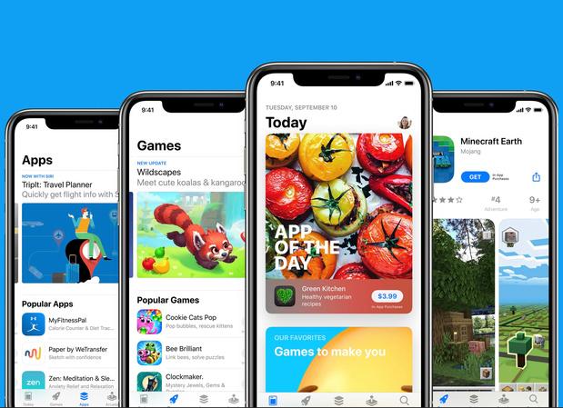 App Store van Apple faciliteerde half biljoen dollar aan handel