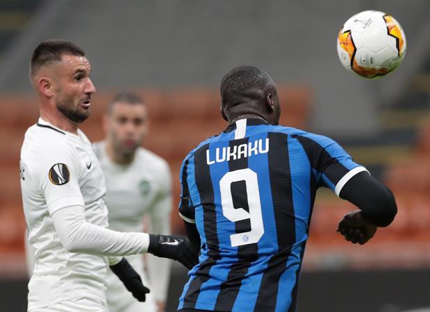 Le but gag de Lukaku avec l'Inter (vidéo)