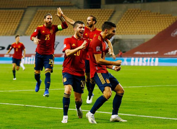 Spanje geeft Duitsland pandoering in Nations League: 6-0 (VIDEO)