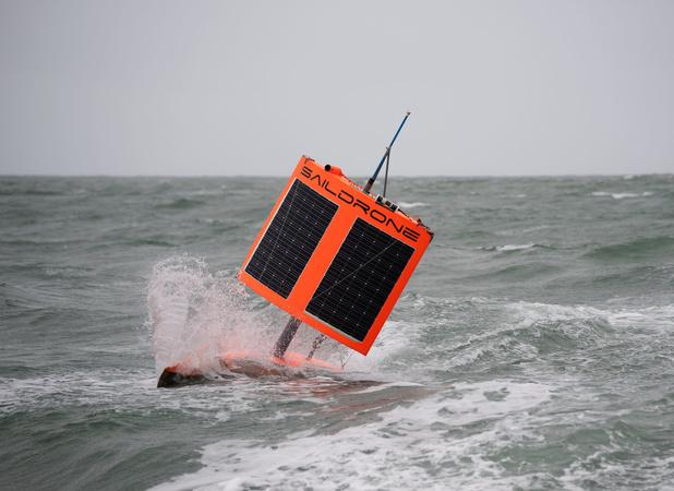Onbemande boot voer rond de Zuidpool om klimaatwetenschappers nauwkeurige data te bezorgen