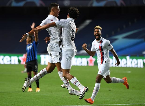 Le PSG renverse l'Atalanta in extremis