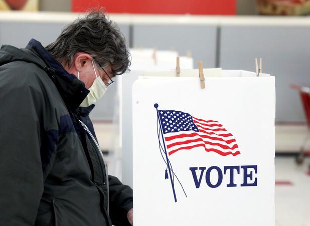 Wisconsin houdt verkiezingen tijdens coronacrisis: 'Kiezen tussen gezondheid en stemrecht'