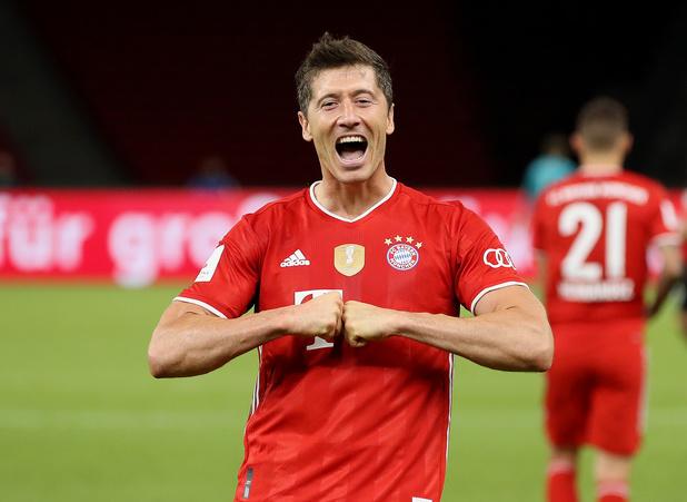 Sans surprise, Lewandowski élu joueur de la saison