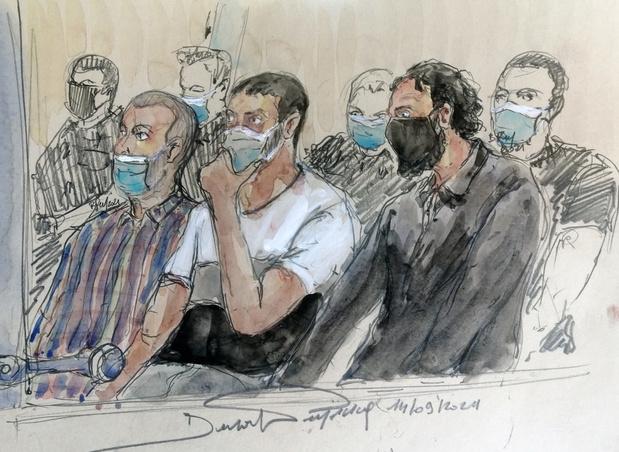 Salah Abdeslam justifie les attentats de Paris par l'intervention militaire de la France contre l'EI