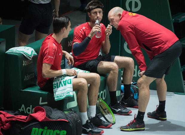 La Belgique défaite par l'Australie en Coupe Davis