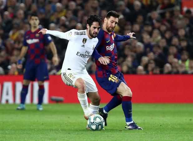 Le Barça et le Real toujours en quête du trône