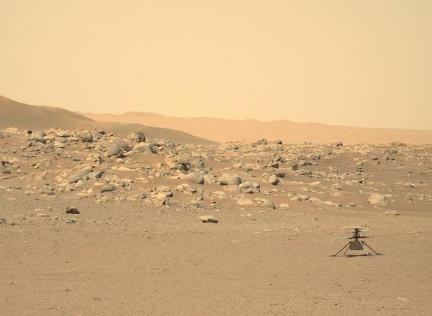 Après six mois sur Mars, l'hélicoptère de la Nasa Ingenuity a atteint des sommets