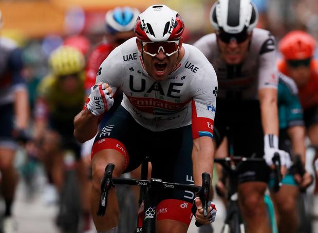 Alexander Kristoff s'adjuge au sprint l'étape d'ouverture à Nice marquée par les chutes et la pluie