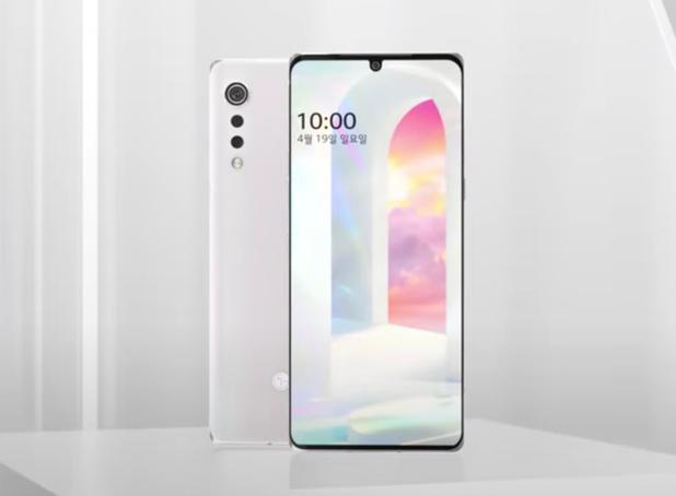 LG zet filmpje van nieuwe Velvet-smartphone online