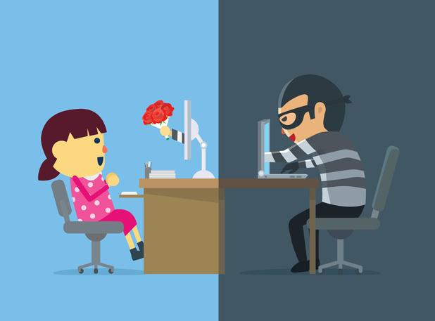 """Près de deux plaintes par jour pour """"fraudes à l'amitié"""" en ligne"""