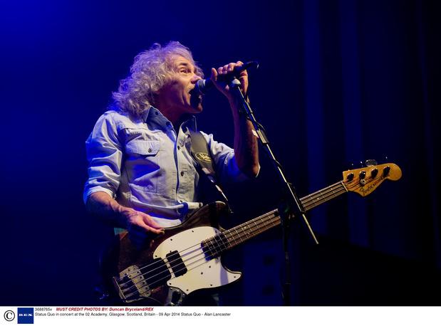Décès d'Alan Lancaster, le bassiste des Status Quo