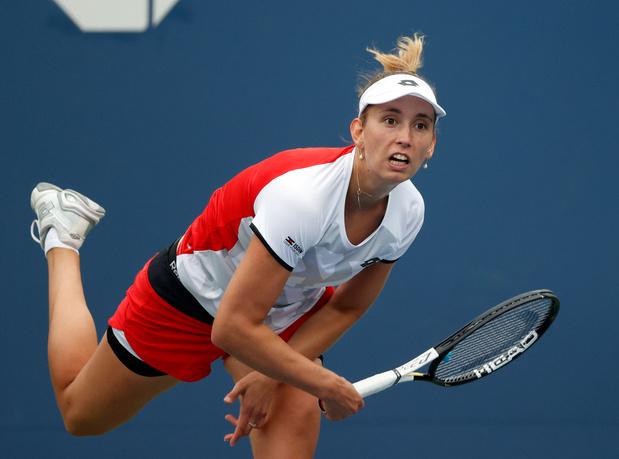 US Open: Elise Mertens éliminée en quart de finale du double