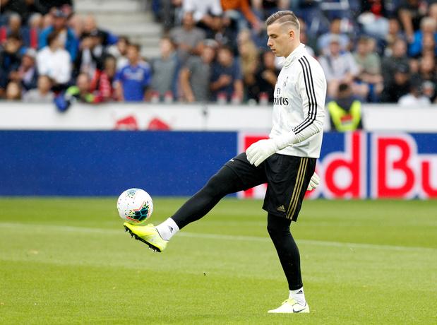 Lunin, gardien au Real Madrid, prêté à Valladolid