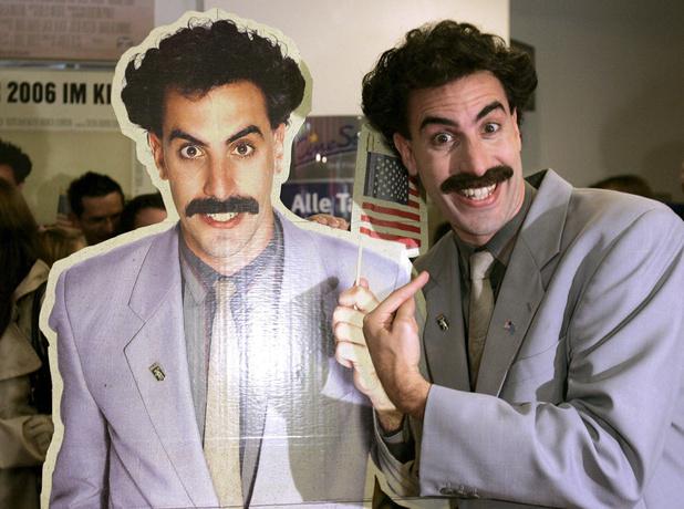 Trump n'apprécie pas les gags de Sacha Baron Cohen alias Borat