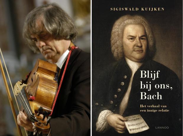Sigiswald Kuijken en zijn trouwe metgezel Bach