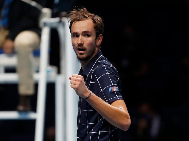 Medvedev wint ATP Finale tegen Thiem