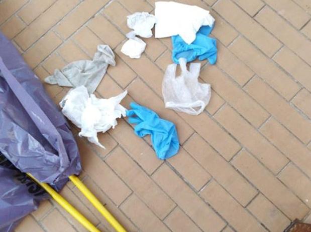 Knokke-Heist vraagt inwoners opnieuw om geen gebruikte beschermingsmiddelen op straat te gooien