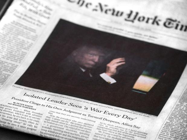 'Een krant als The New York Times zou de moed moeten hebben om haar cartoonisten te verdedigen'