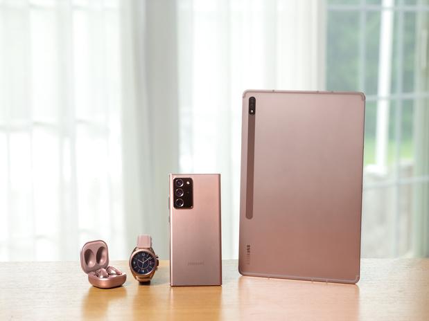 Samsung zet in op thuiswerk met Note20