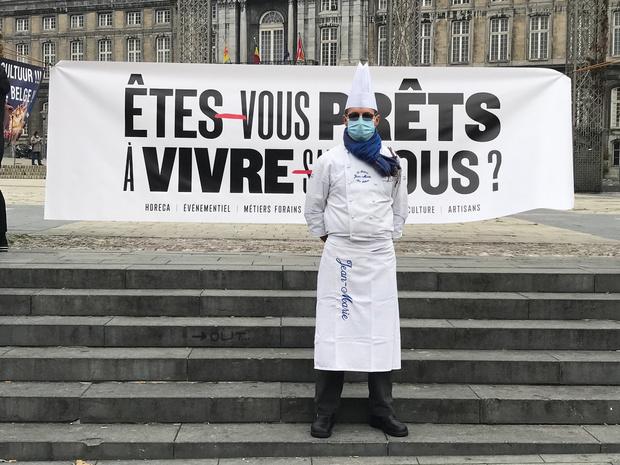 Les grands chefs belges plaident pour une réouverture des restaurants le 1er mars