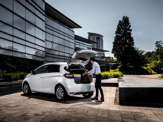 Renault Zoe Van, l'utilitaire ultracompacte électrique urbaine