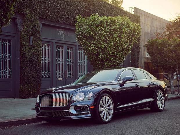 Bentley breidt uitrusting Flying Spur uit