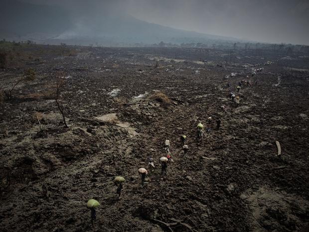 Congo: 400.000 op de vlucht uit vrees voor nieuwe vulkaanuitbarsting