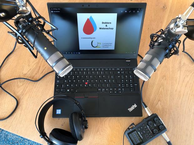 Een podcast voor en door dokters