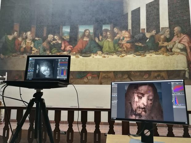 Y a-t-il une oeuvre de De Vinci à l'abbaye de Tongerlo? Des scans devraient apporter une réponse définitive