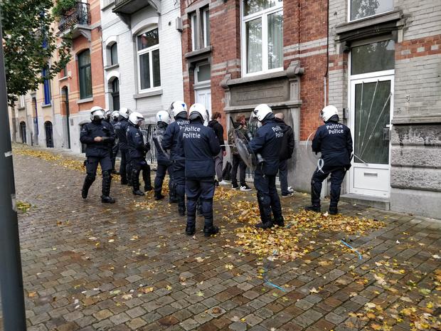 Une septantaine d'arrestations lors des manifestations non-autorisées à Bruxelles