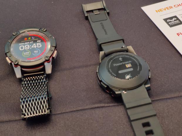 Découverte à l'IFA: la montre intelligente qui ne se recharge jamais