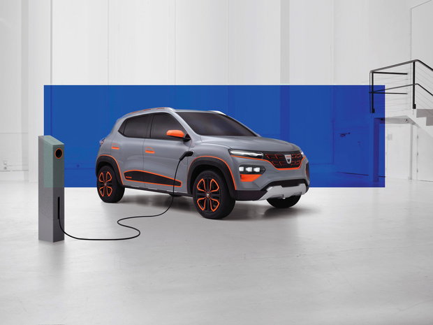 Dacia stelt zijn eerste elektrische auto voor