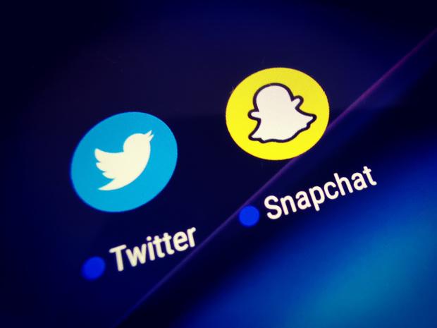 Twitter et Snapchat se sont vraiment distinguées au deuxième trimestre