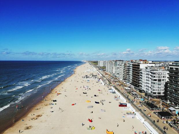 Oostende activeert aanmeldingssysteem voor stranden
