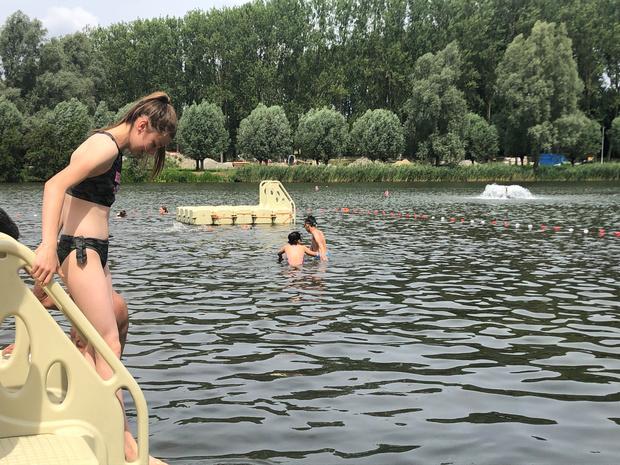 Brusselaars kunnen dit weekend opnieuw proeven van openluchtzwemmen