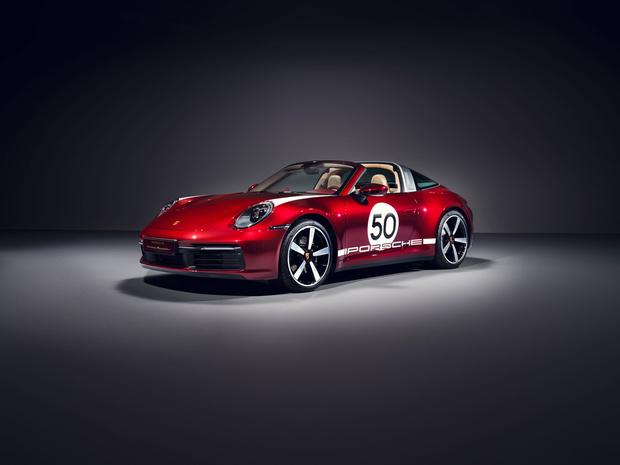 911 Targa 4S Heritage Design Edition : l'esprit fifties