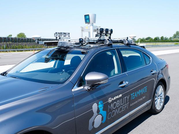 Toyota va tester une voiture autonome à Bruxelles