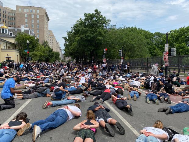 Opnieuw tienduizenden Amerikanen bij betogingen tegen politiegeweld, rellen blijven uit