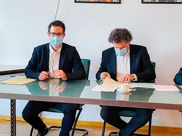 Alexandre Hebert, nouveau directeur médical du site Sambre du CHRSM