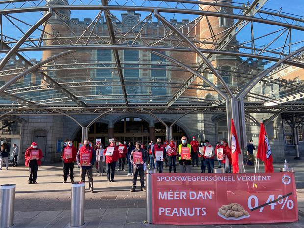 Grève nationale: La FGTB satisfaite de la mobilisation