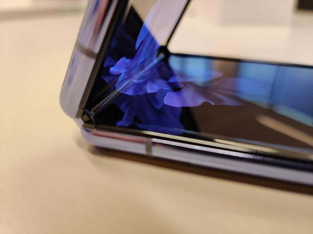 Hands-on met de Samsung Galaxy Z Flip