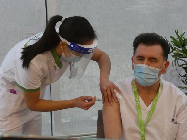 38.409 vaccinaties in Vlaamse ziekenhuizen?