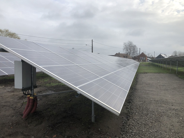 Le plus grand parc photovoltaïque wallon inauguré à Tertre