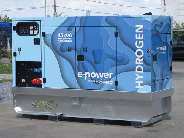 La société belge e-power lance le premier générateur à hydrogène zéro émission